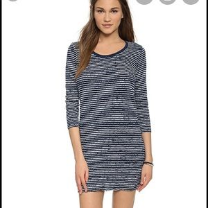 ATM Anthony Thomas Melillo Dresses - Navy Striped Mini Dress